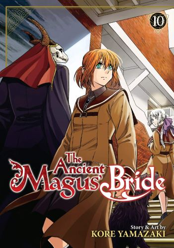 Image result for manga the ancient magus bride 10