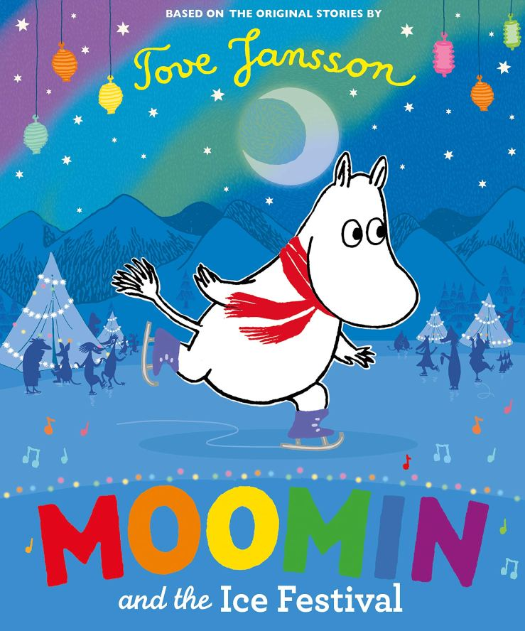 Image result for moomin and the ice festival
