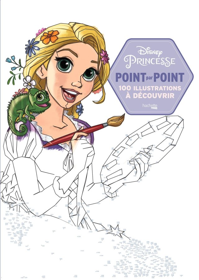 Points à relier Princesses Disney (Heroes) (French Edition