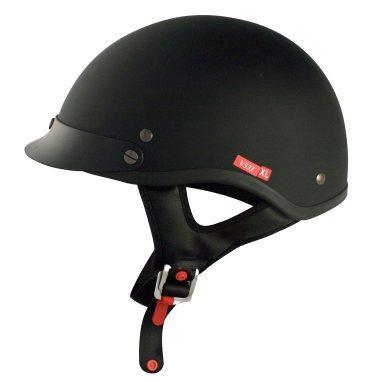 VCAN V531 Cruiser Solid Half Helmet