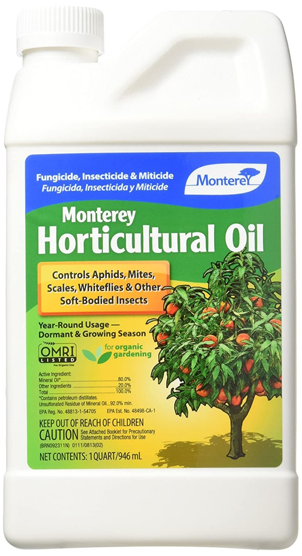 Horticultural Oil for fighting citrus pests