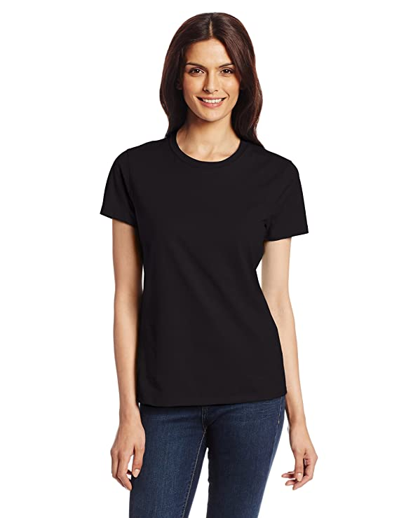 camisa casual sencilla color negro para mujerhttps://amzn.to/2SwySs6
