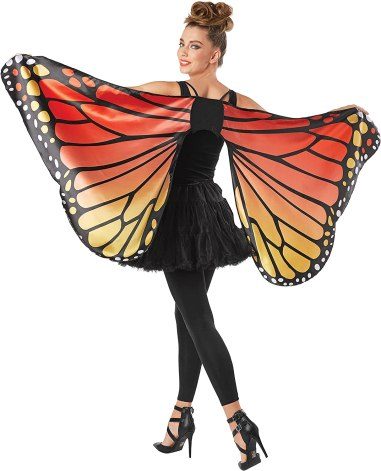Quick and Easy Halloween Costume Butterfly
