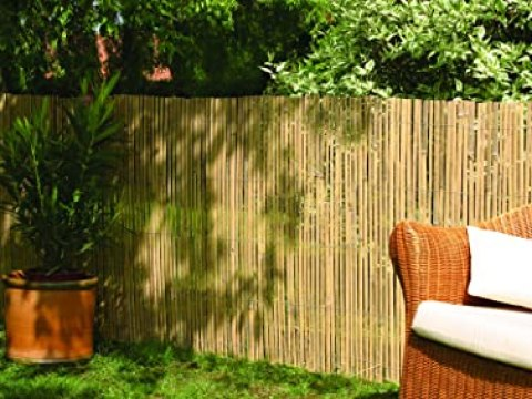 sichtschutz fuer zaun robuster sichtschutz zaun bambus calama extra gehärtet von de-commerce i  balkonsichtschutz sichtschutzzaun trennwand für garten, terrasse, balkon,