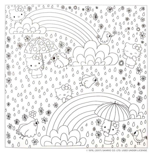 Hello Kitty & Friends Coloring Book: Sanrio: 21: Amazon