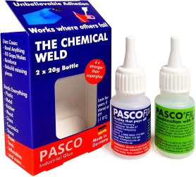 best glue for metal to plastic - PASCOFIX