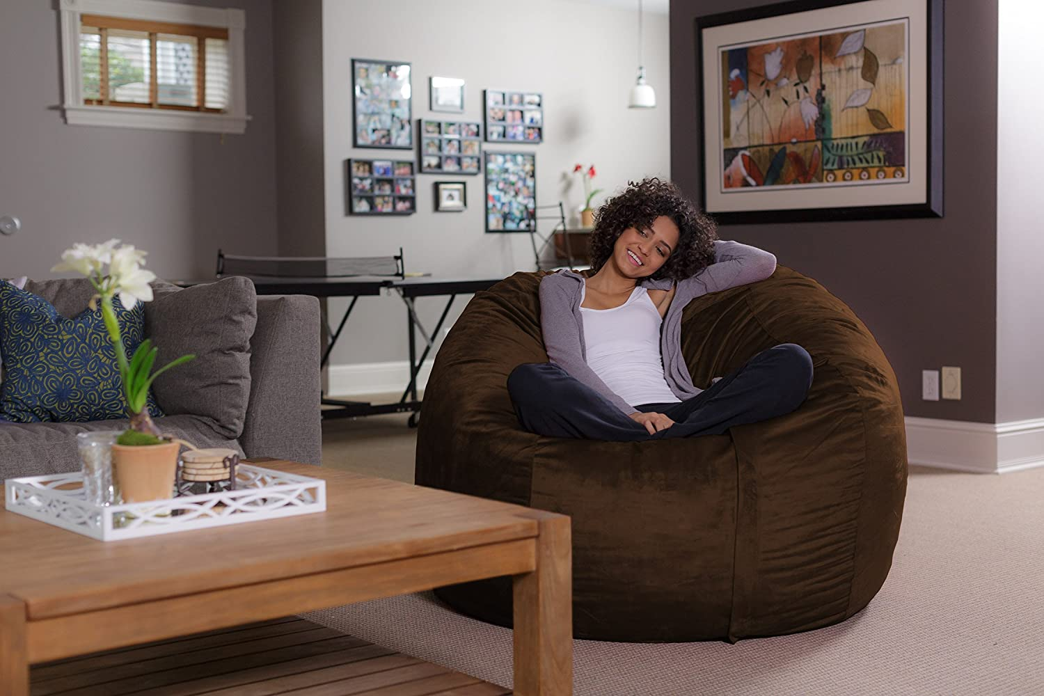 Bean Bag Chair In Home