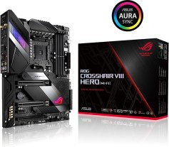 Asus ROG X570 Crosshair VIII Hero (Wi-Fi) ATX Motherboard with PCIe 4.0