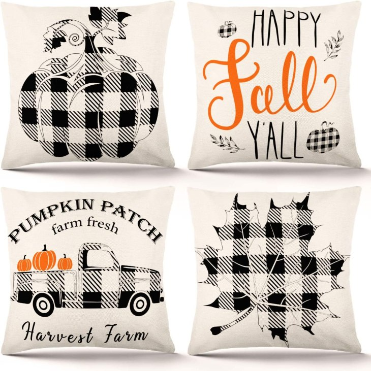 18 x 18 Fall Pillow Covers Amazon Prime - Useful Things to Buy on Amazon