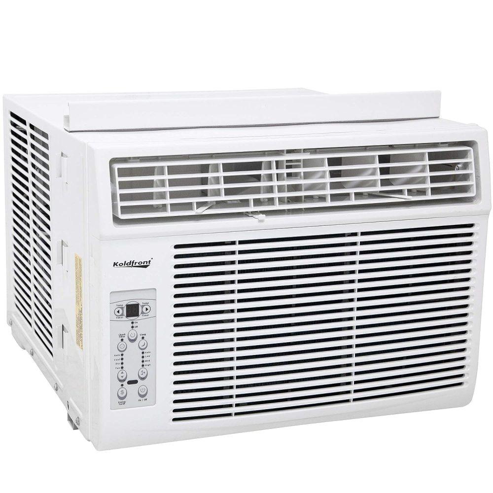 Koldfront WAC12003WCO 12000 BTU 115V Window Air Conditioner with Dehumidifier and Remote Control