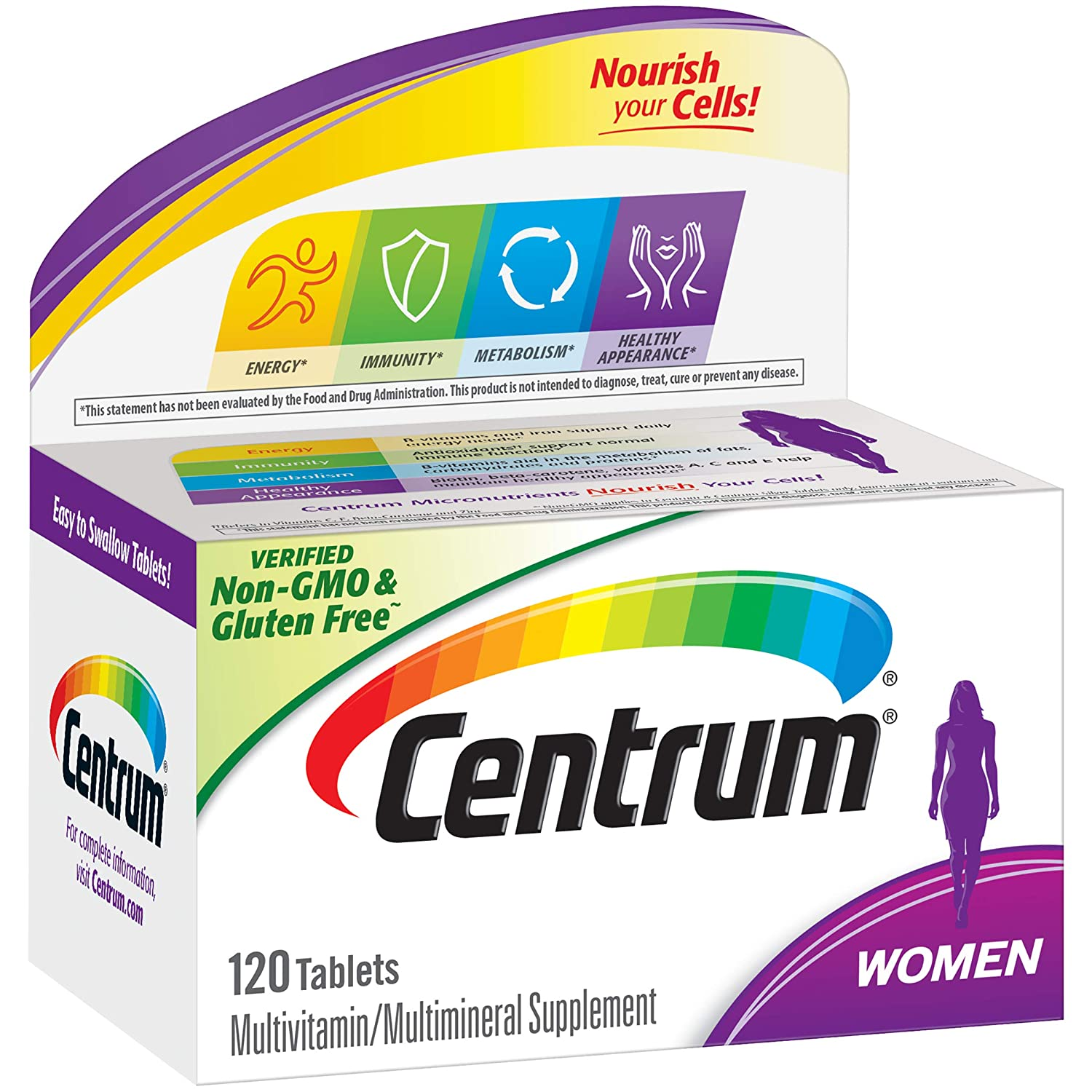 Amazoncom Centrum Women 120 Count Multivitamin