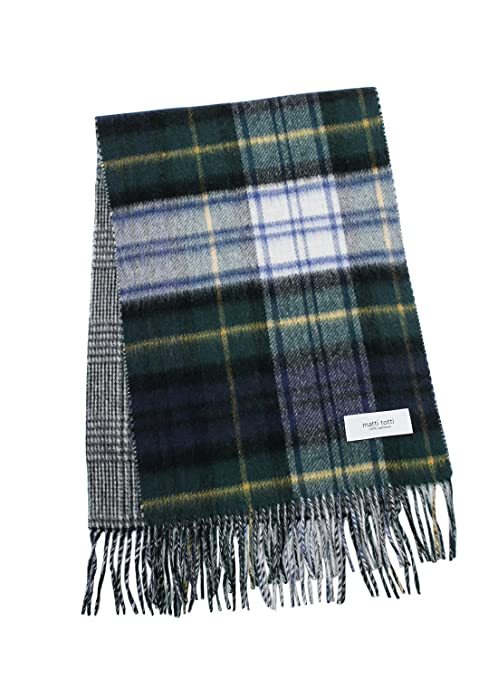 matti totti 100% cashmere reversible scarf, pamper yourself