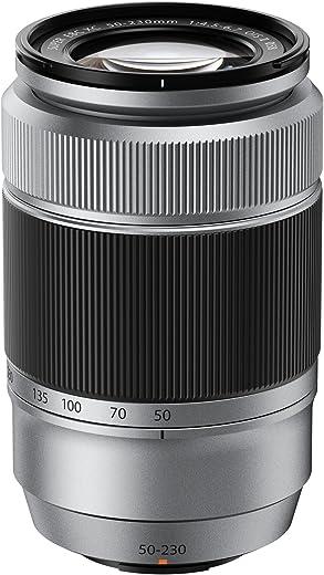 Fujifilm Fujinon Zoom Lens XC50-230mm F4.5-6.7 OIS II, Telephoto Zoom Lens for Fujifilm X Mount Cameras, Silver