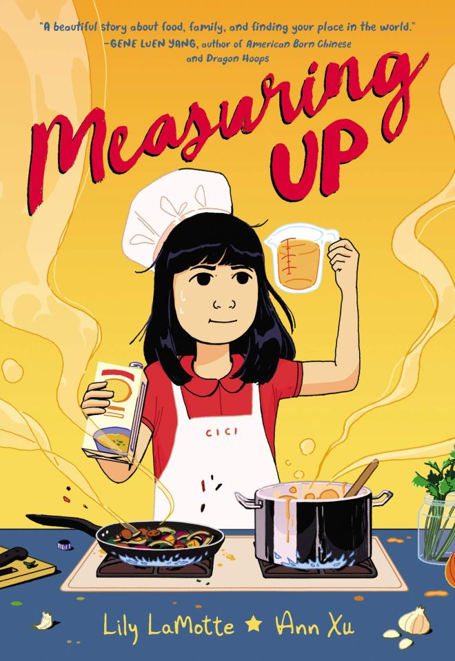 Measuring Up: LaMotte, Lily, Xu, Ann: 9780062973863: Amazon.com: Books