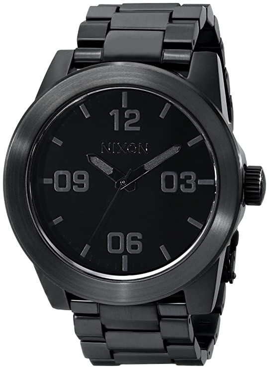 Reloj de pulsera color negro elegantehttps://amzn.to/2UymERL