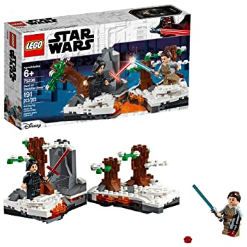 Lego Star Wars The Force Awakens Duel On Starkiller Base 75236 Building Kit New 2019 191 Pieces