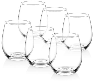 Wine glasses for crafts