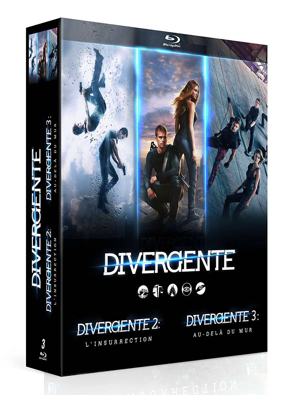Divergente - Coffret 3 films BLU RAY