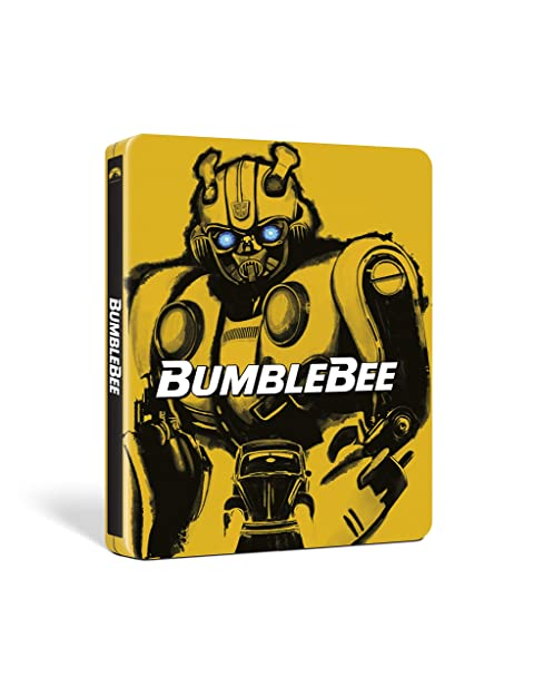 【Amazon.co.jp限定】バンブルビー 4K Ultra HD+ブルーレイ スチールブック仕様(オリジナルクリアファイル3種&組み立てキャラクターシート3種セット付き)[4K ULTRA HD + Blu-ray]