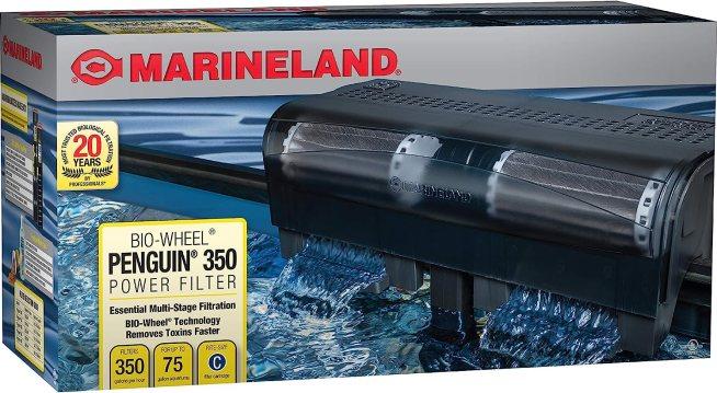 MarineLand Penguin 350 Power Filter ( Best HOB Filters)