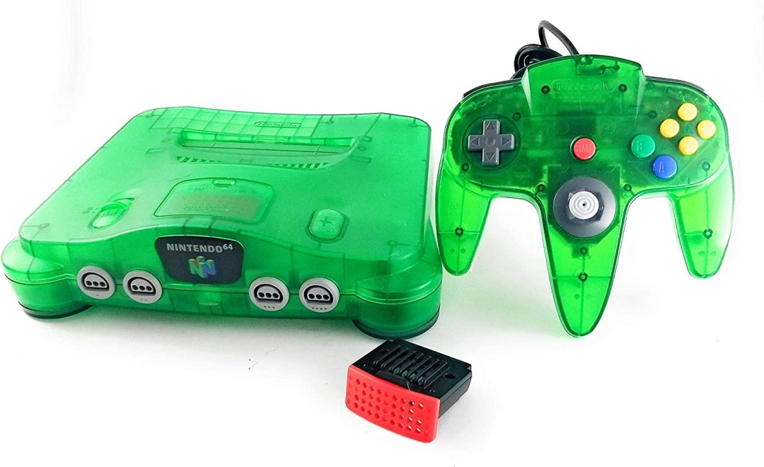 Système Nintendo 64 (Renewed) Vert Jungle