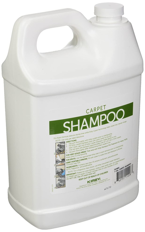 Kirby Carpet Shampoo Substitute Www Stkittsvilla Com