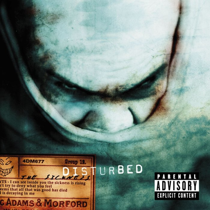 Image result for Disturbed – The Sickness