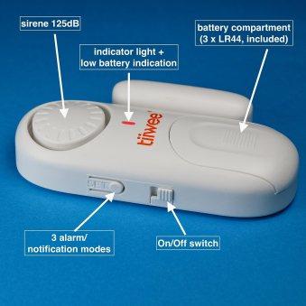détecteur de porte tiwee