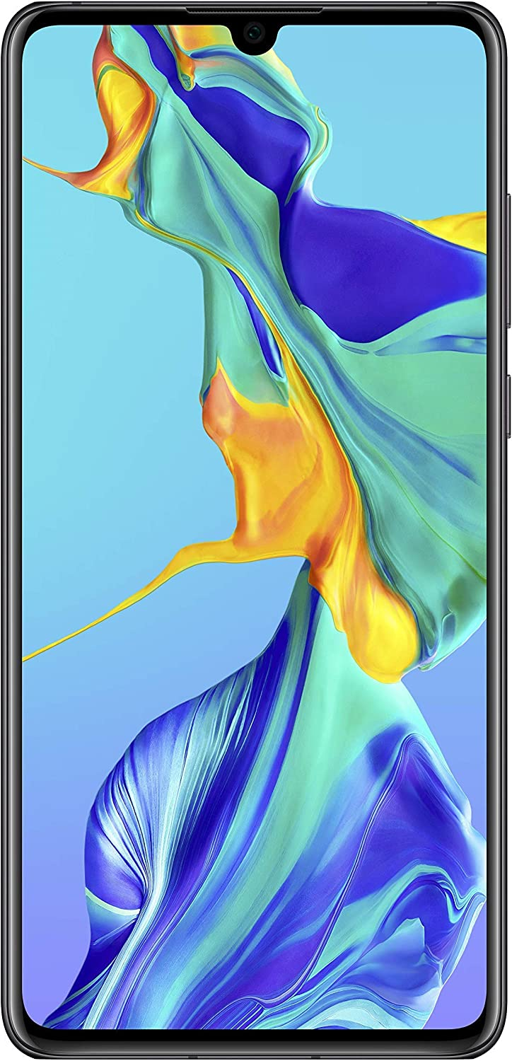 Huawei P30 Smartphone débloqué 4G (6,1 pouces - 6/128Go - Double Nano SIM - Android 9) Noir