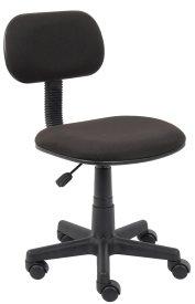 B205-BK Fabric Steno Chair