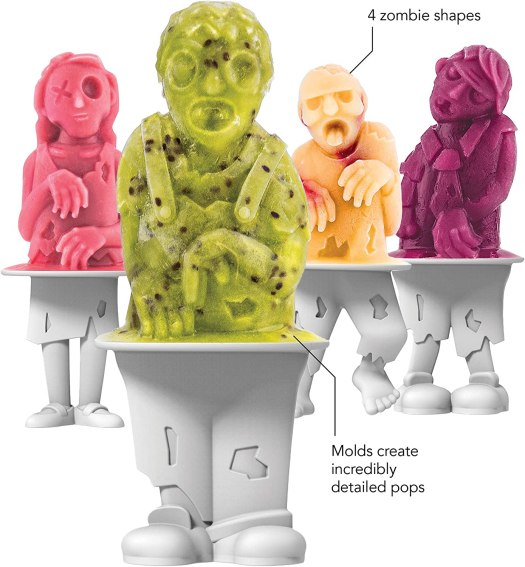Tovolo Zombies Ice Pop Molds