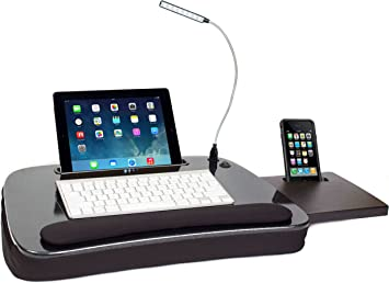 Amazon.com: Sofia + Sam Multi Tasking Memory Foam Lap Desk with ...
