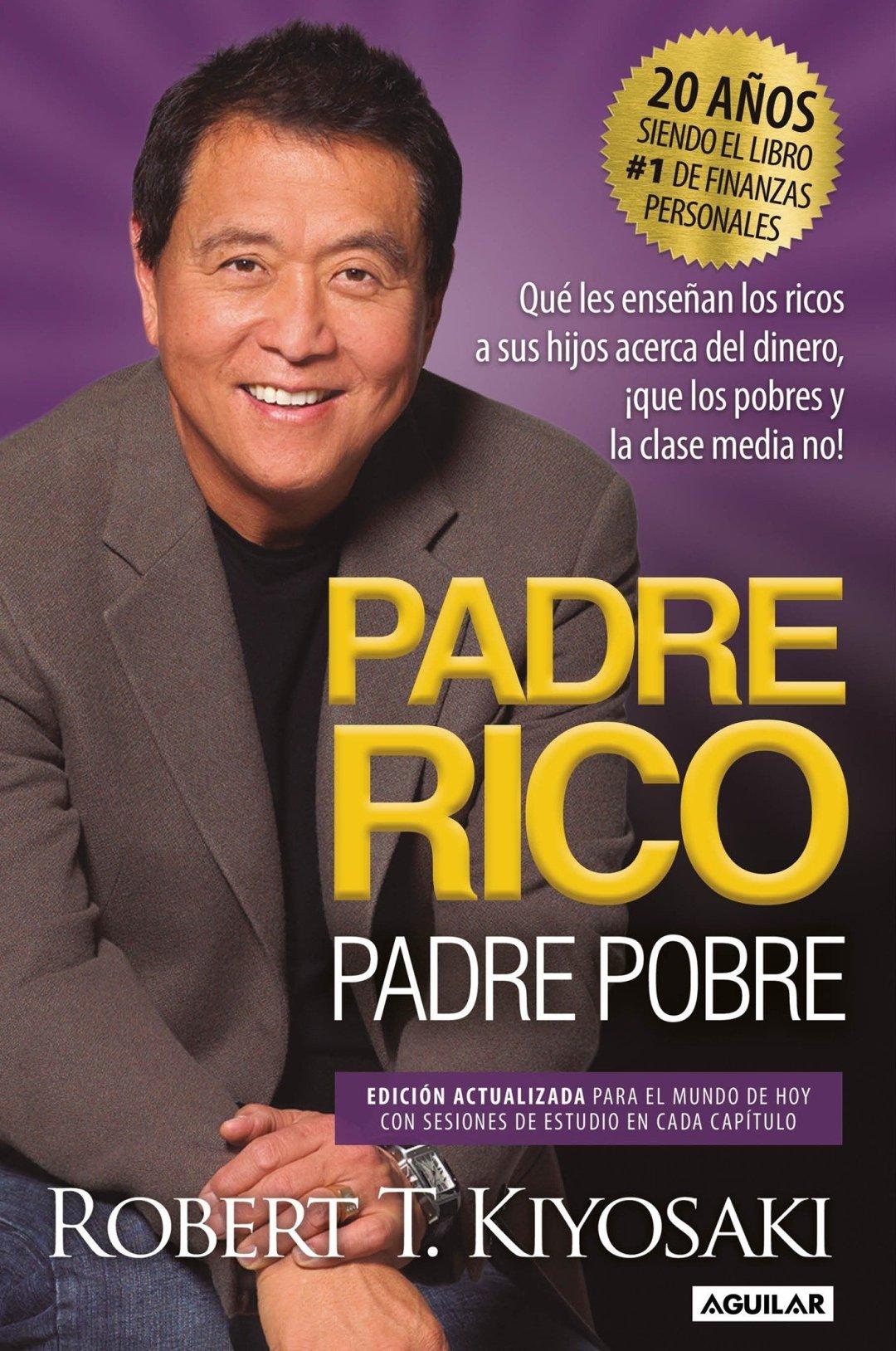 Resultado de imagen para Padre rico Padre pobre (Mejor libro general de finanzas personales)