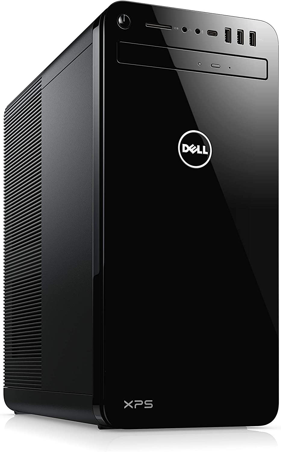 Dell Inspiron XPS 8930 PC Ordinateur de Bureau Unité centrale DVD-RW Black (Intel Core i7, RAM 8Go, 2To + SSD 512Go, NVIDIA GeForce GTX 1660Ti 6GB)