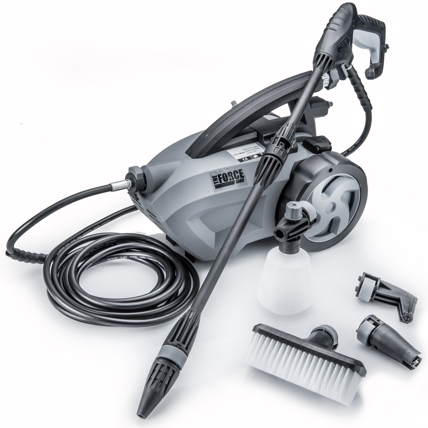 Best Powerhouse International - The Force 1800 - Pulls Behind Electric Pressure Washers Reviews Buying Guide