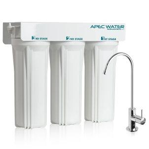 APEC WFS-1000 3 Stage Under Sink Water Filter