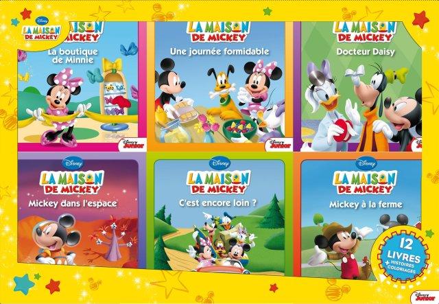 La Maison de Mickey, COFFRET 29 LIVRES : Hachette Jeunesse: Amazon