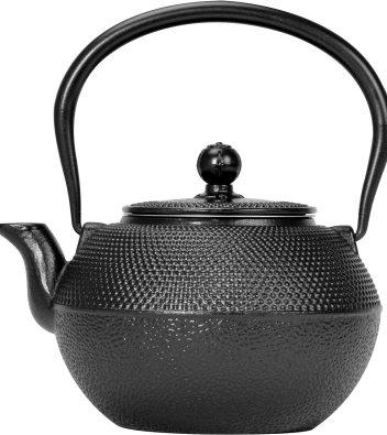 Primula Black Hammered Japanese Tetsubin Cast Iron Teapot