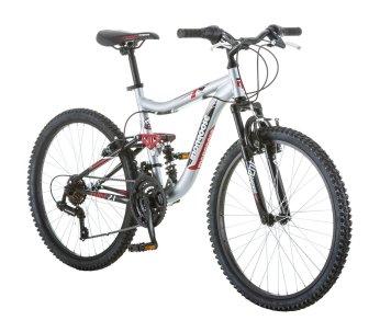 Mongoose Ledge 2.1 Full Suspension Bike