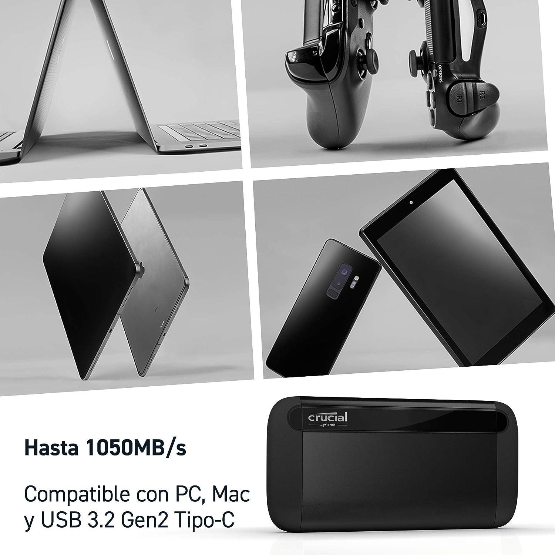 Crucial SSD portátil 1-TB