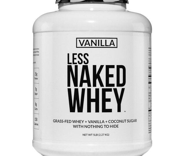 Amazon Com Less Naked Whey Vanilla Protein All Natural Grass