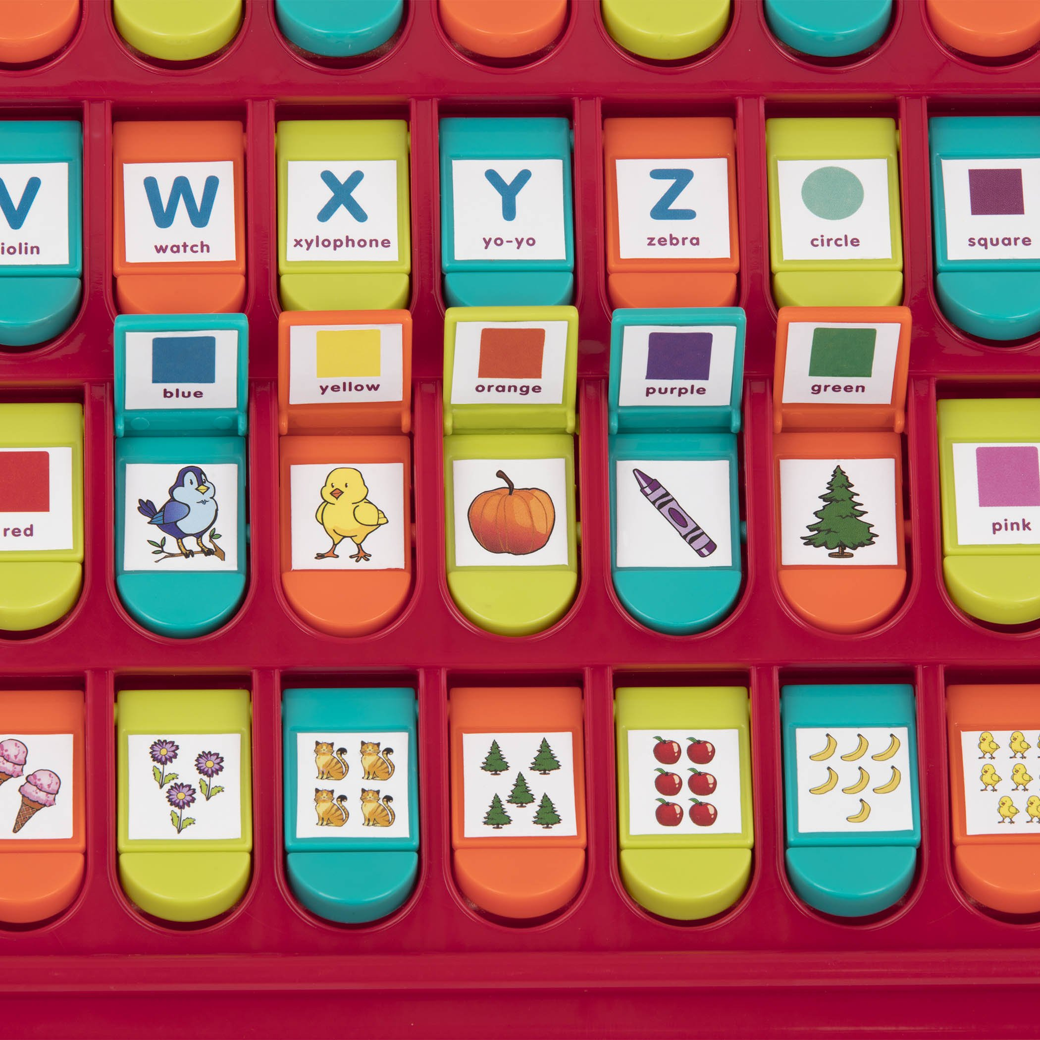 Details About Battat Hide And Seek Alphabet Preschool Learning Toy For Kids