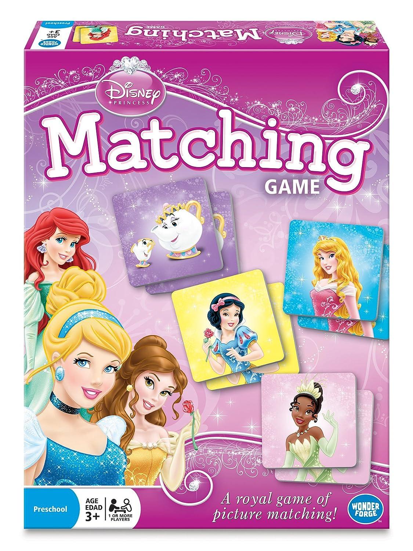 Fun Disney Princess Matching Game