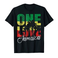 One Love Jamaica T shirt - Caribbean Vacation