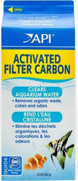 API Activated Filter Carbon, Removes dissolved Organic Waste, Colors, Odors, Improves Water Clarity, Use routinely in Any Aquarium Filter (the best chemical filter media )