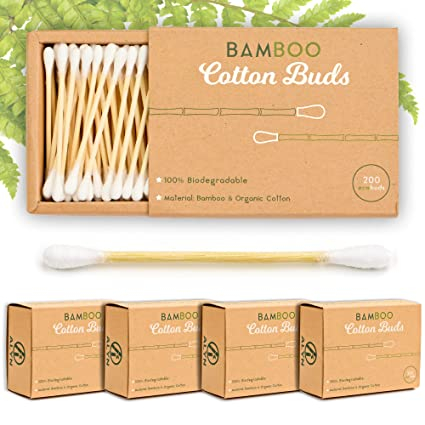 Alyn Bamboo Cotton Wool Buds
