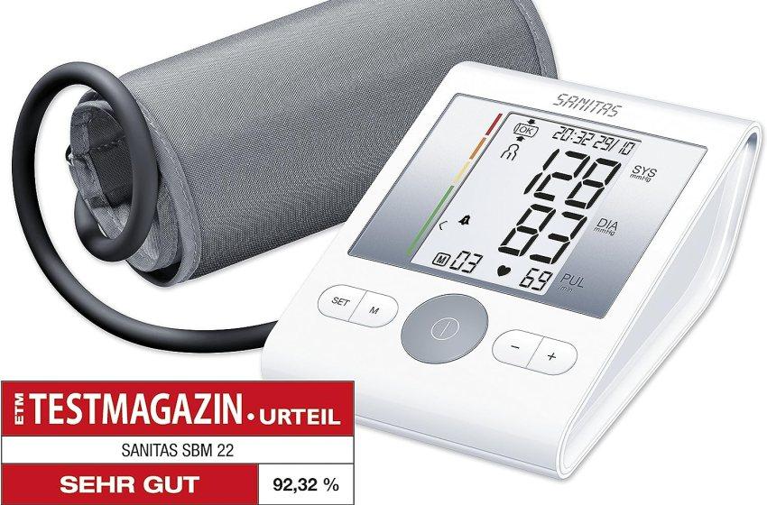 Sanitas Oberarm-Blutdruckmessgerät