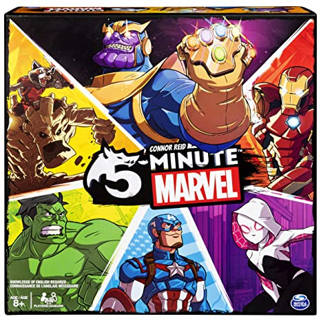 Image result for 5 minute marvel