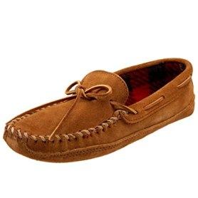 Image result for minnetonka  mens double fleece slipper