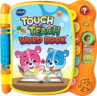 VTech Touch & Teach Word Book (Frustration-Free Packaging)